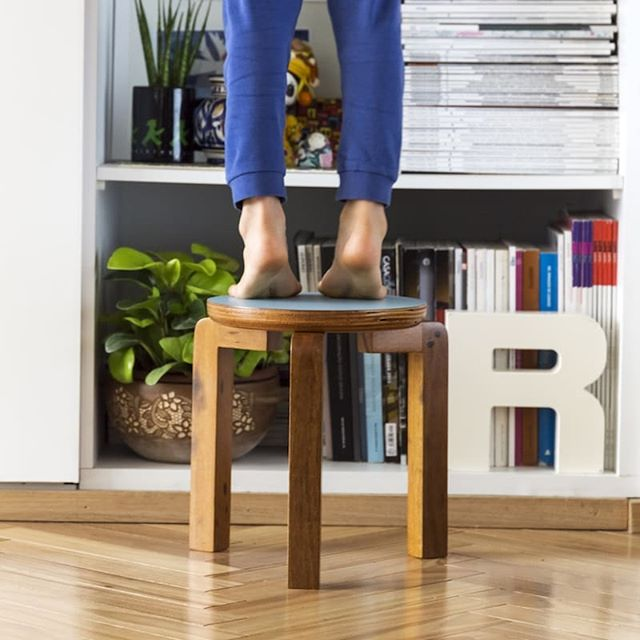 Geraldim was designed to be by your kid's side!  Order today and we send tomorrow! Available in many colors. . . . . . . . .  #astrohouse #design #productdesign #homedecor #kidsfurniture #stool #stooldesign