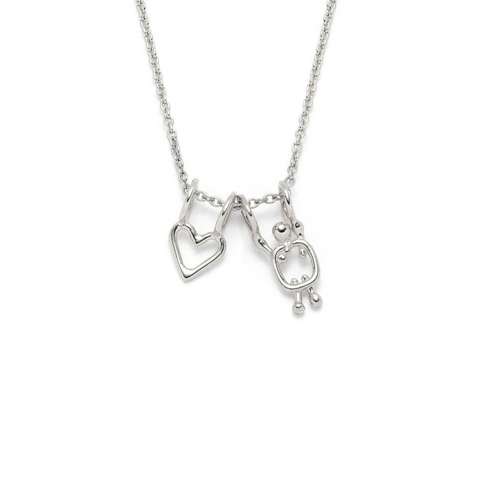 detailing best authentic quality design collier coeur + garçon — Lidia   Colliers familles et bijoux minimalistes  en argent sterling