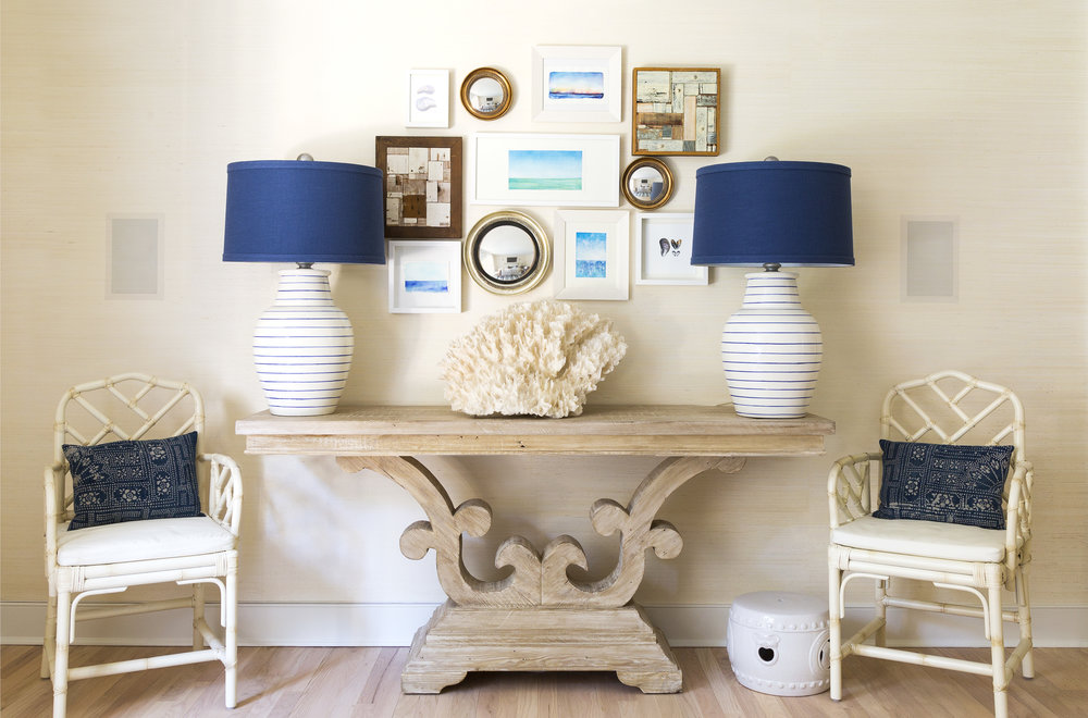 east hampton summer cottage living room wall by chango cojpg - Living Room East Hampton