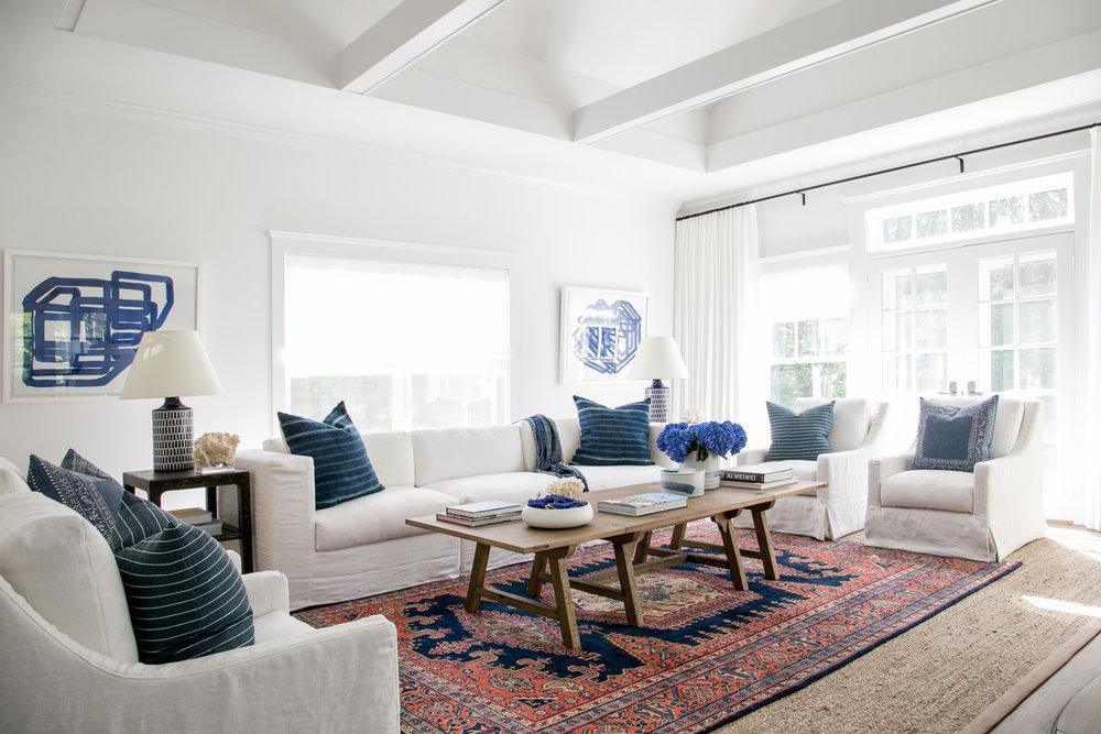 East Hampton New Traditional   Living Room Angle. Part 67