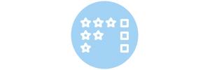 VISION 360° Nous vous offrons une meilleure connaissance de la qualité délivrée par vos fournisseurs grâce aux évaluations de vos collaborateurs.