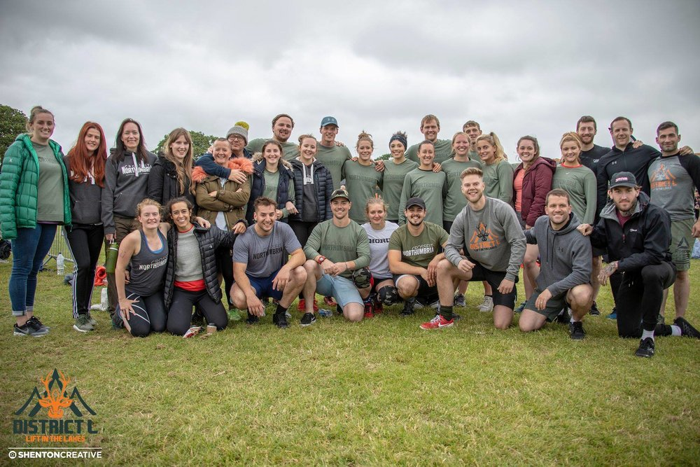 4 teams from CrossFit Northumbria travelled over to the Lake District to compete in District L.