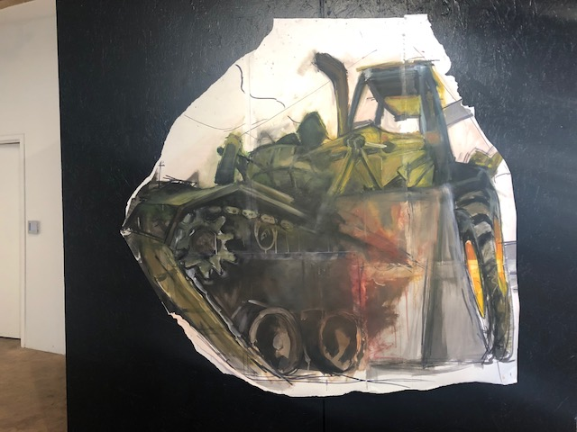 """Untitled I (Bulldozer/Tank)"" by Anthony Patterson"