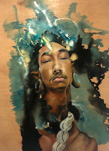 """""""Orunmila"""" by Sloane Siobhan"""