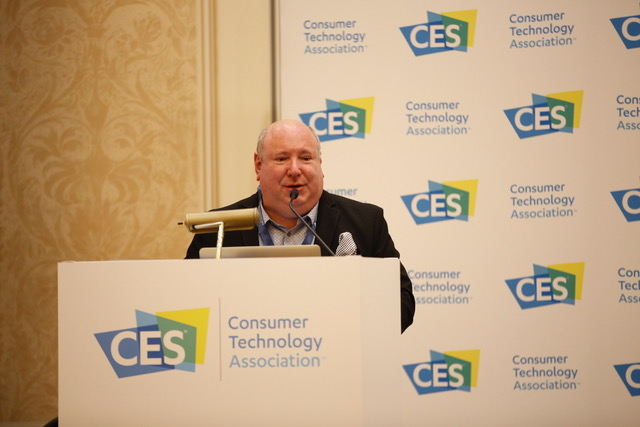 Speaking at the 2018 YPO event at CES, Las Vegas