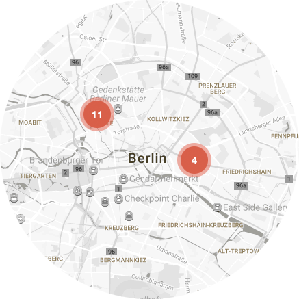 Map Rent in Berlin