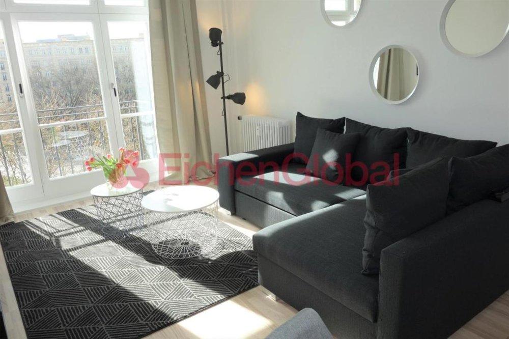 Schickes neu möbliertes Business Apartment Wohnung zum Mieten am Strausberger Platz Berlin - 1.jpg