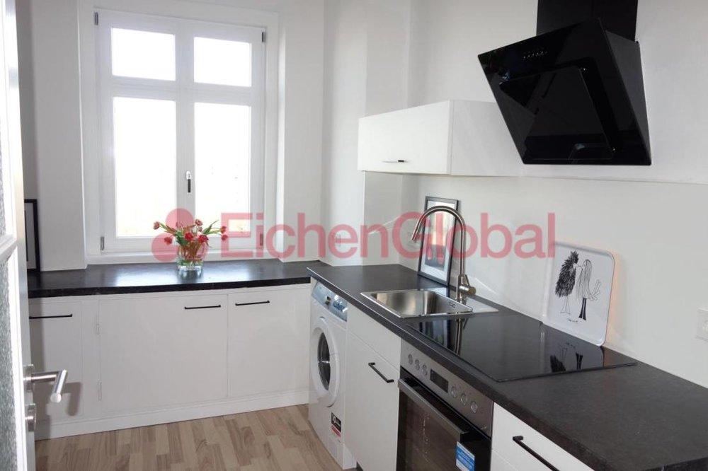 Schickes neu möbliertes Business Apartment Wohnung zum Mieten am Strausberger Platz Berlin - 8.jpg