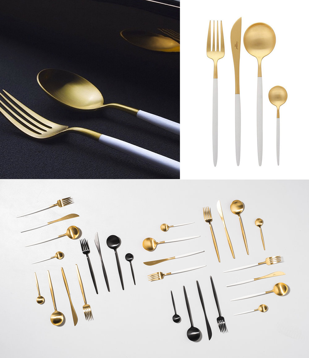 24 Piece Cutlery Set via  The Cool Hunter