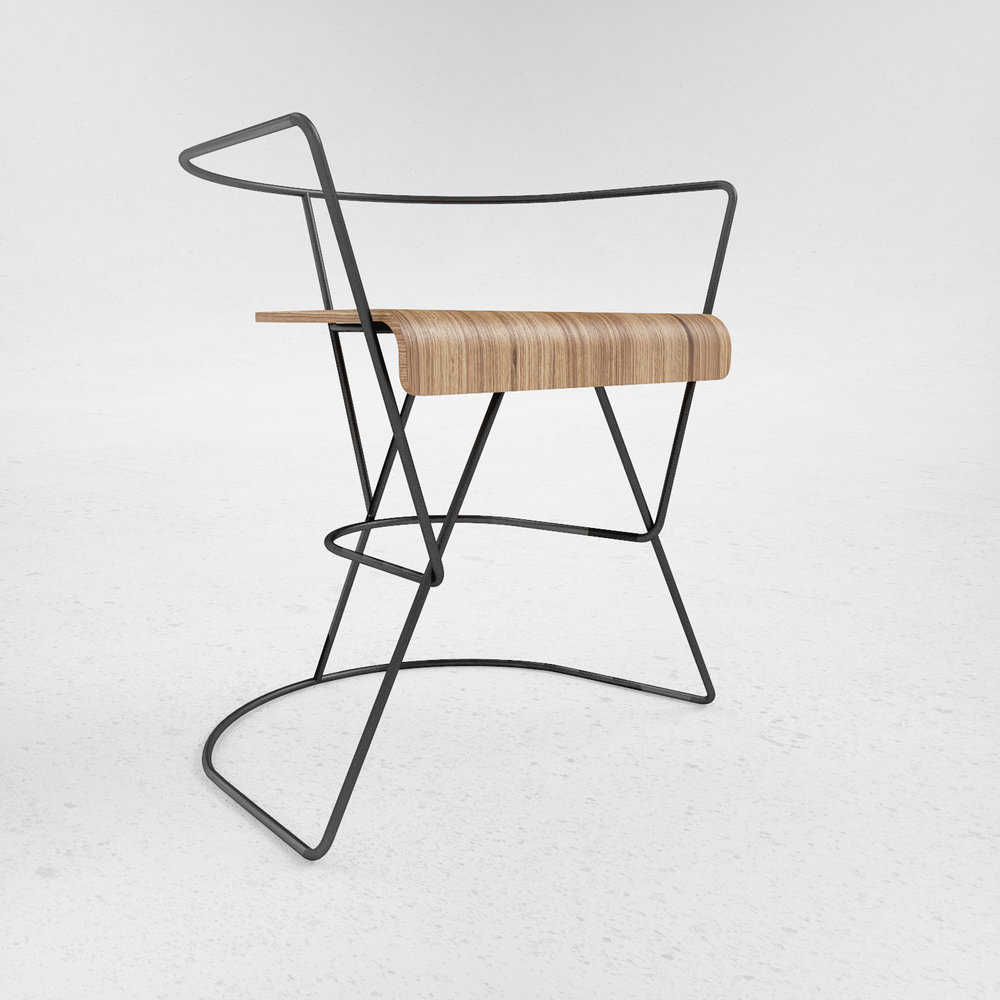 Patricius 1 Chair - by ODESD2