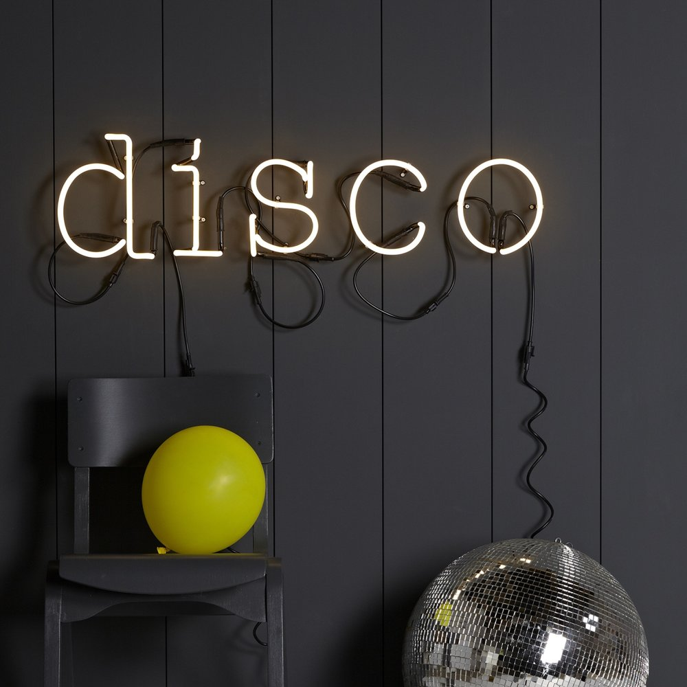 Neon Letter Light - Inspired by classic typography, these neon letters will add some bright, quirky style to any setting.£45.00Available at www.theletteroom.com