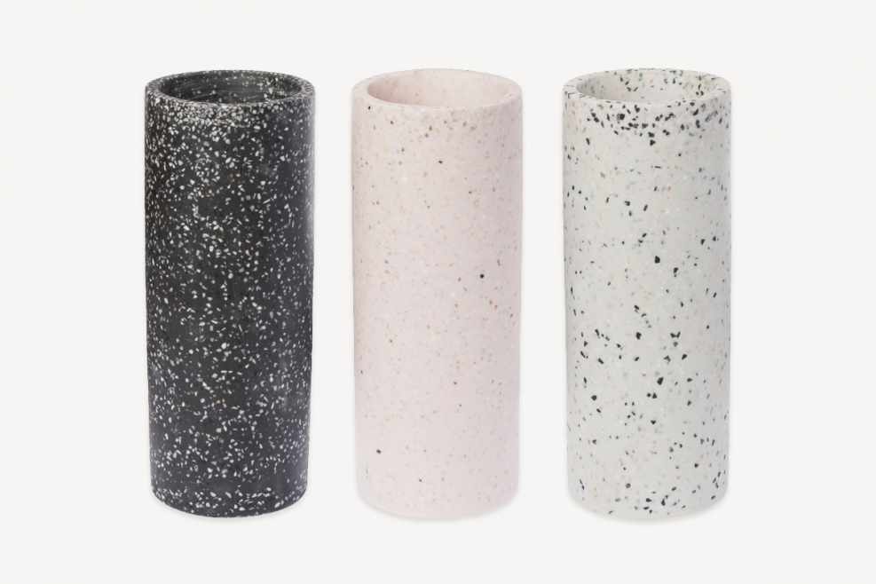 Terrazzo Vase