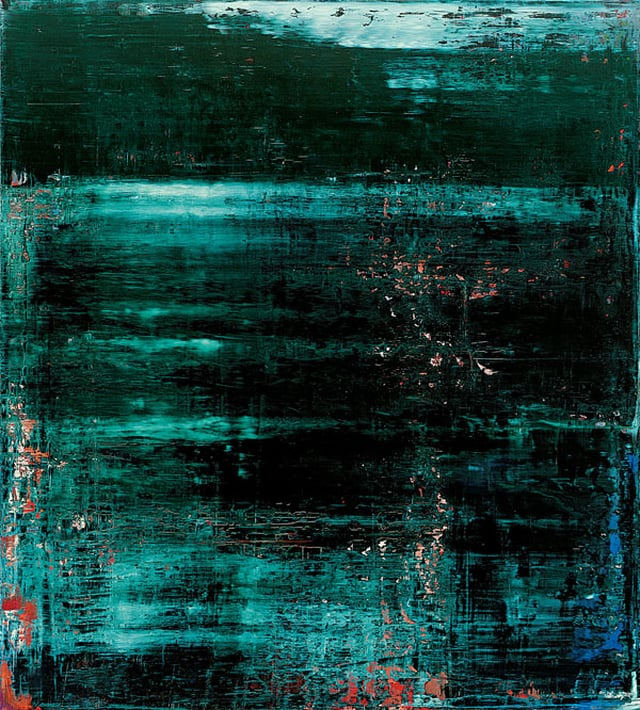 Image via  Gerhard Richter on Pinterest