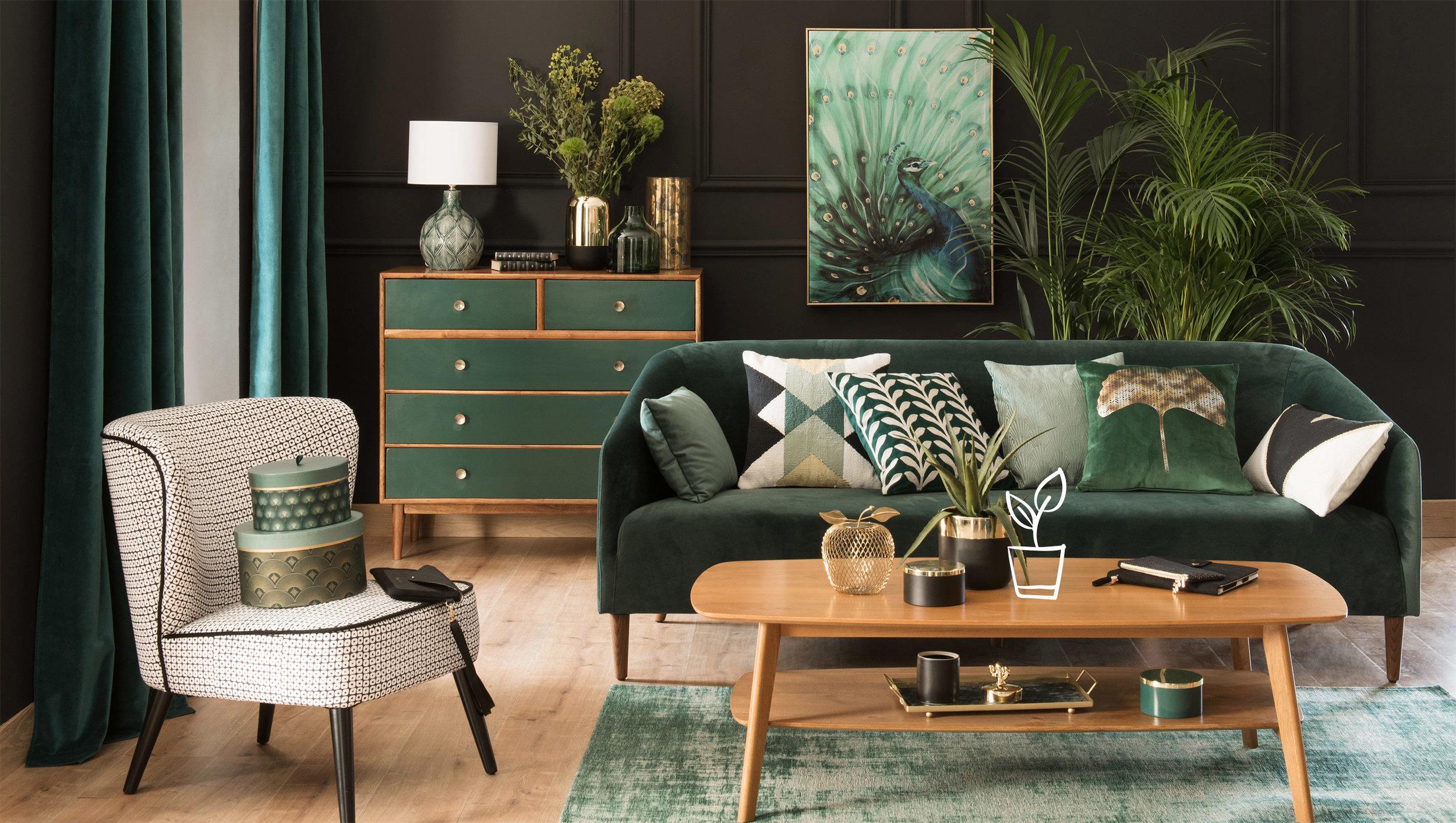 Maison Du Monde Terrazzo creating the perfect green interior — liv for interiors