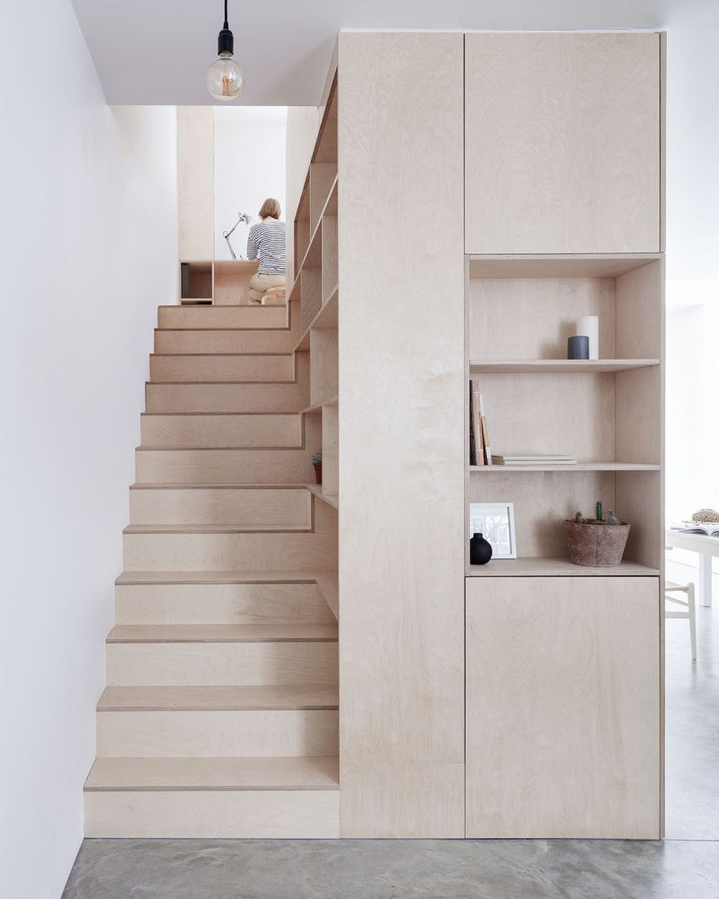 Larissa Johnston Architects: Islington Maisonette