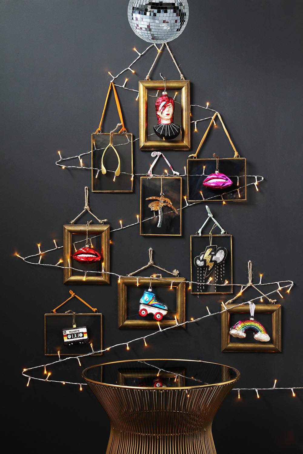 Make a statement - Big, original and quirky pieces might be the way to go for those who want to turn heads and catch eyes for their 2017 celebrations. Whether they're hanging from the tree, tucked underneath or littered around the edge, ornaments like these ones from Rockett St George will perfectly capture your tastes, personality and style. You can mix and match a variety of options to create something with a real 'wow' factor.
