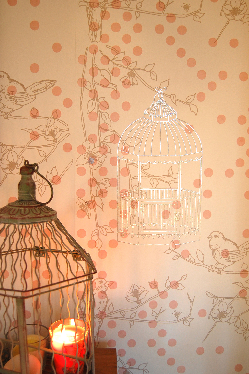 If walls could talk - Getting the walls right is paramount to any nursery's success. With its eclectic design, Laura Felicity's 'Dotty Bird' collection is inspired by a love of blossom flowers and the British garden sparrow. The bird and cage motif creates a beautiful balance of fun, sophistication and timeless chic. It's available in a soft colour palette, comprising green and teal, plum purple and rose and light taupe (pictured), from £2.50 (A4) at www.laurafelicity.co.uk