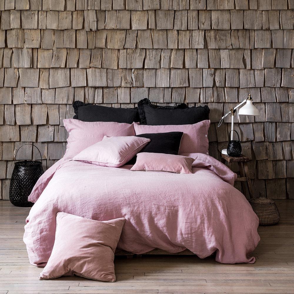 Lisbon blush pink linen