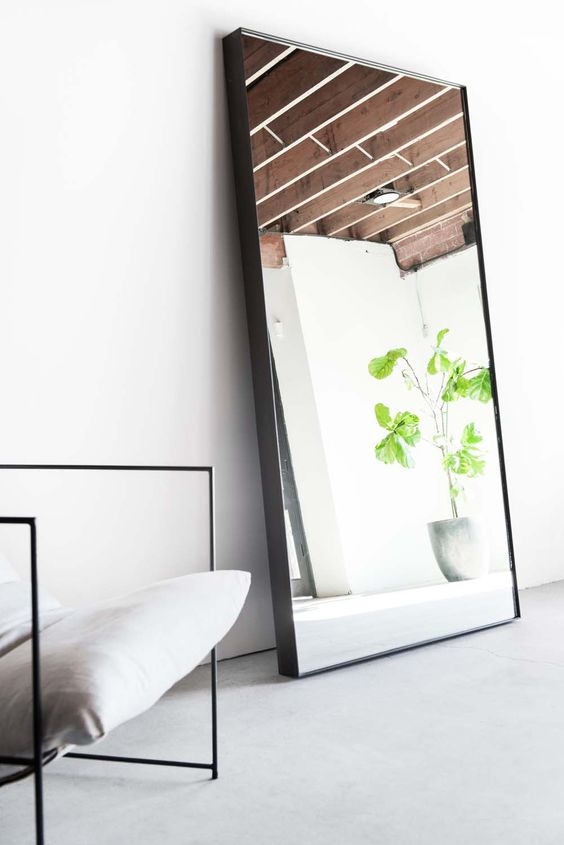 Maximise with a Mirror - It's a well-known fact that the bigger the mirror, the more space it will appear to create. Place your mirror opposite a view that you want to reflect; by placing a mirror opposite a window, it will add natural light and greenery into a smaller space. Marsh & Parsons suggests making a mirror the focal point of the room, and using interesting frames to create texture and depth.