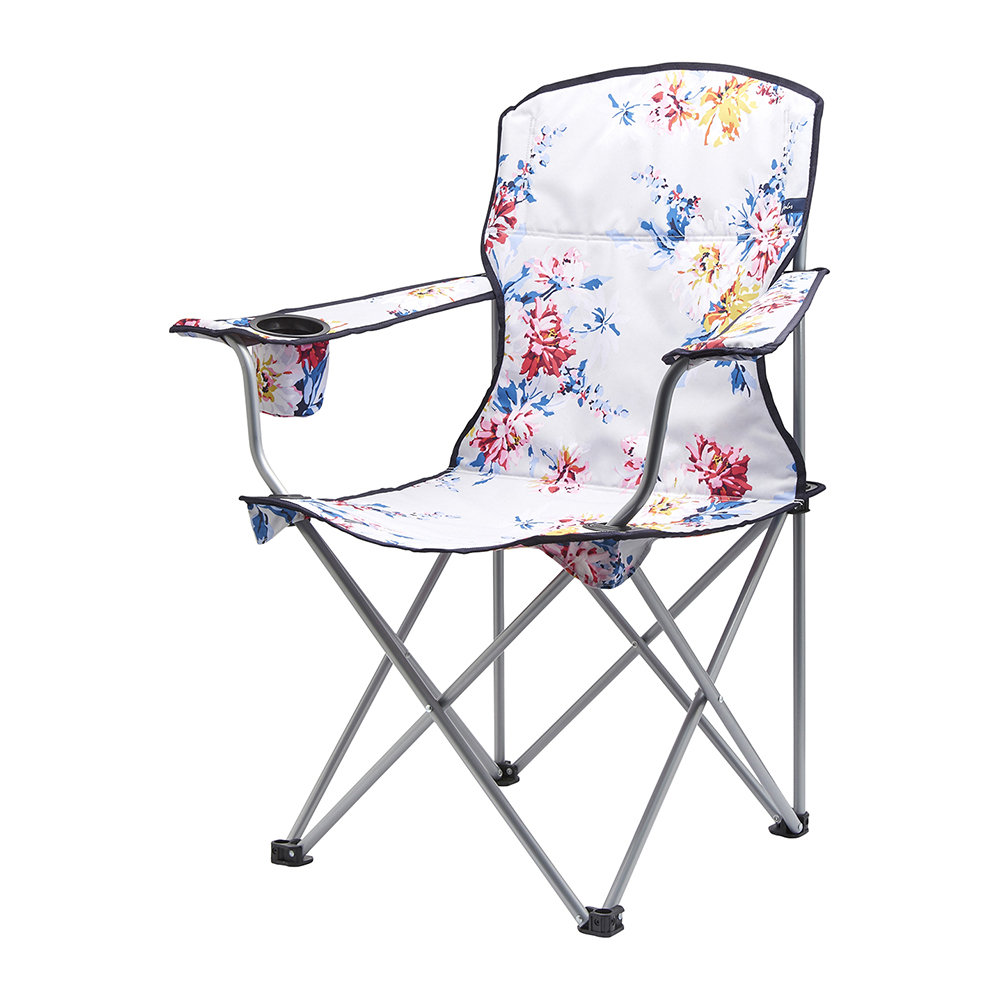 Folding Chairs - As much fun as laying out picnic blankets is, sometimes the novelty can wear off, or you just don't want to risk the pins and needles of sitting on the floor. This is where the trusty folding chair comes in: easy to transport, comfortable, stylish and (most importantly) they don't take up endless amounts of space. And with so many different colourful designs and styles to choose from, your picnic furniture can be as unique as you are.