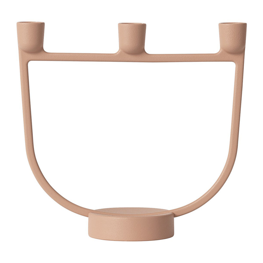 Muuto Open Candelabra Light Terracotta