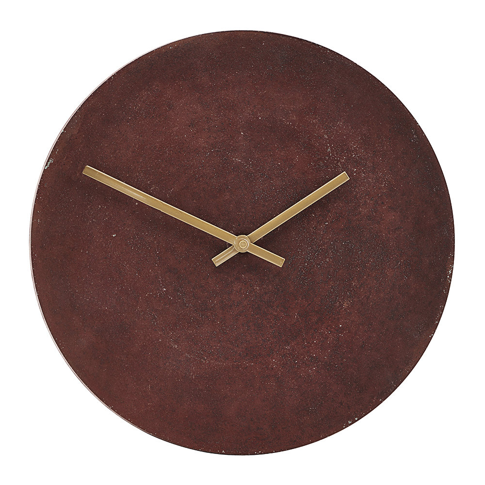 House Doctor Inuse Terracotta Wall Clock