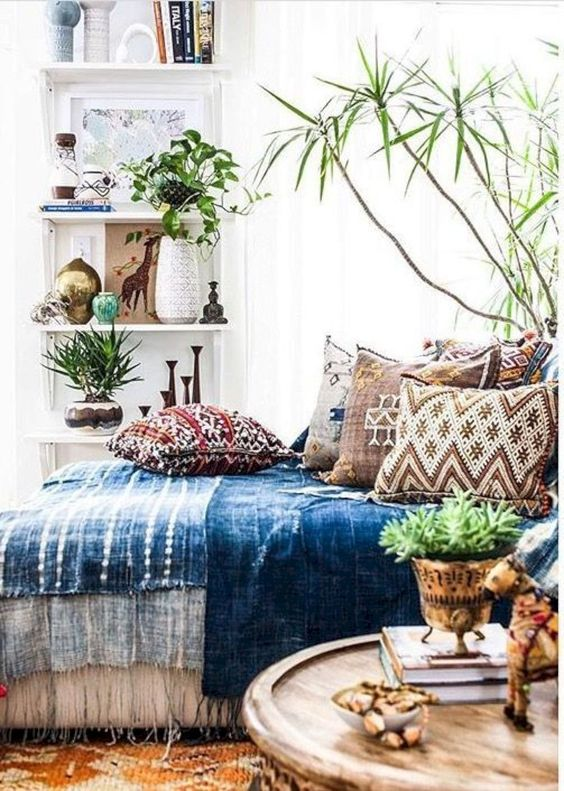 Blue duvet cover with moroccan cushions.jpg