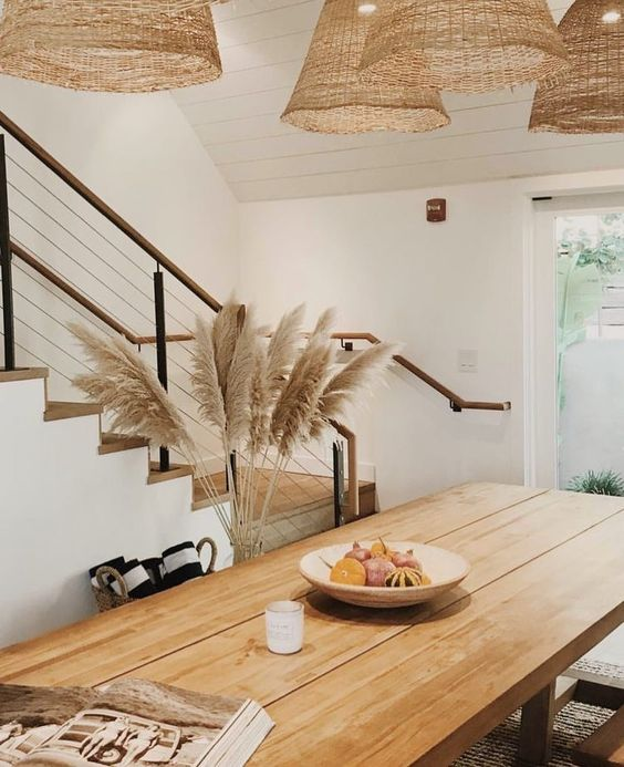 Pampas Grass and Dining Table.jpg