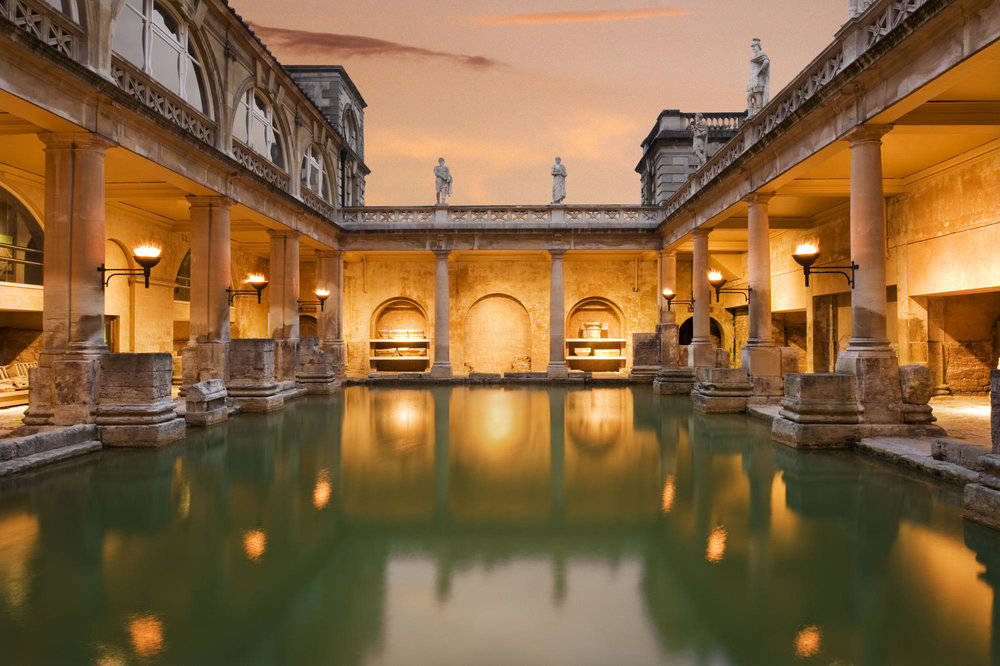 Great Bath orange sky, James Davies reduced.jpg