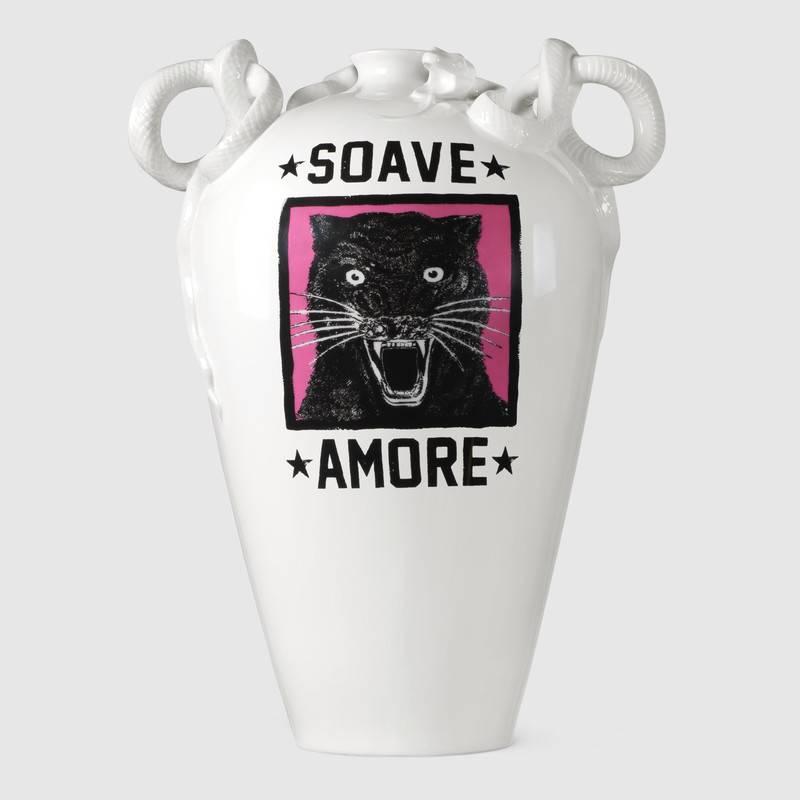 Panther Vase