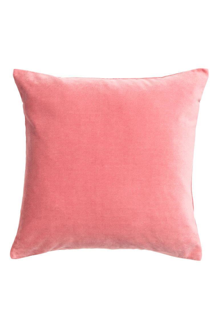 Pink H & M Love Island Cushion