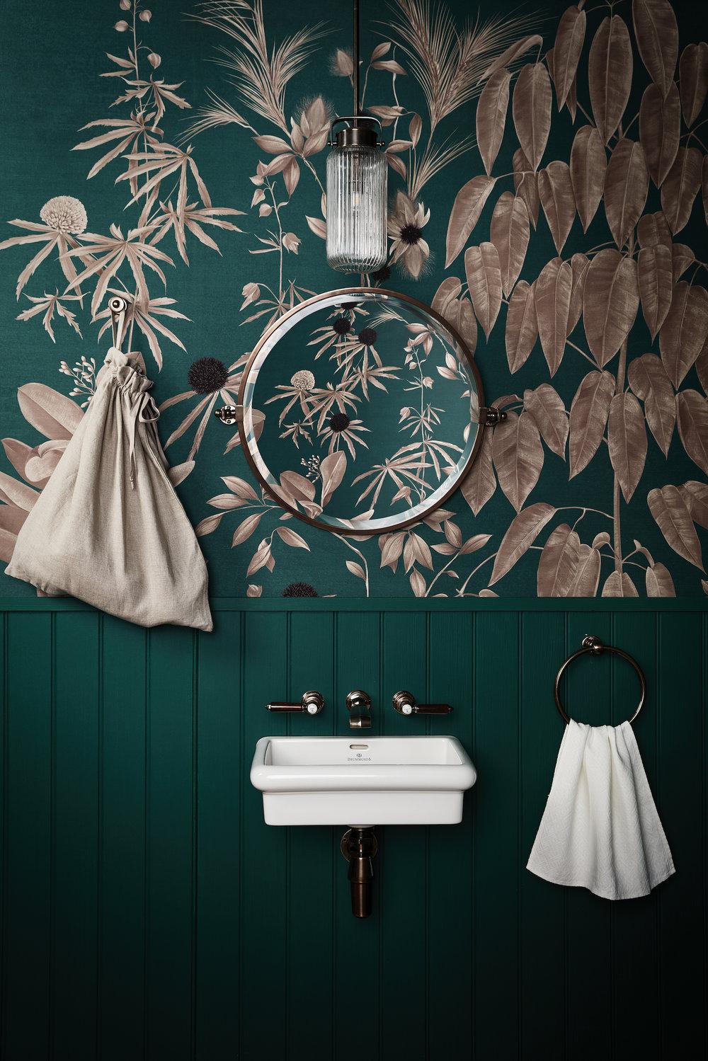 LIV for Interiors / The Green Trend, Drummonds & Benjamin Moore