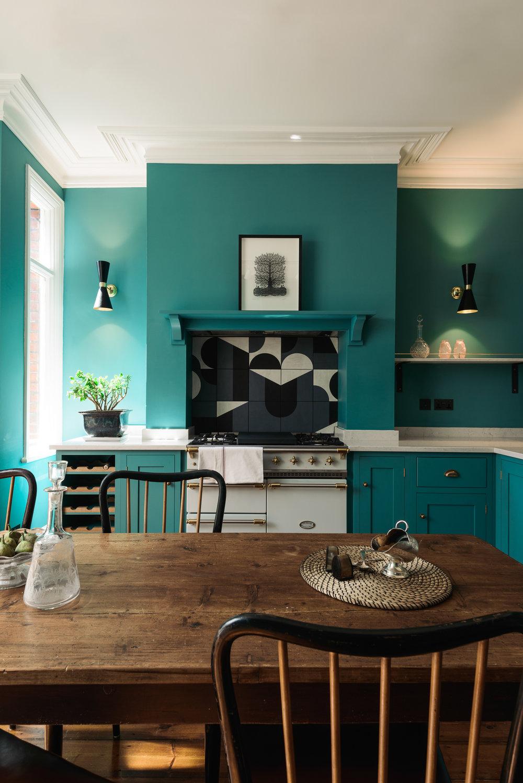 LIV for Interiors / The Green Trend deVOL Kitchen