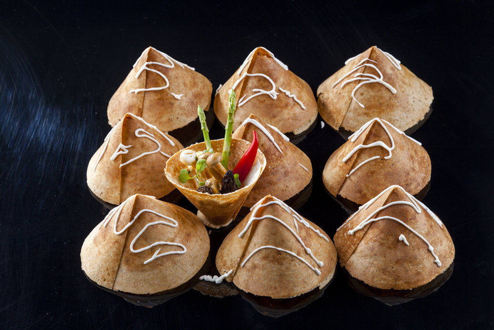 paper roast dosa, mushrooms, water chestnuts (2).jpg