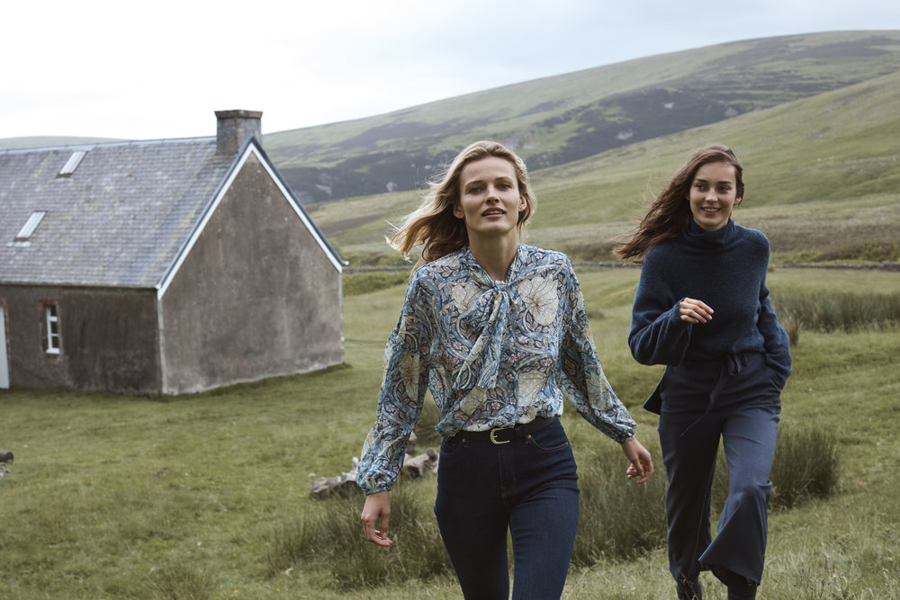 - The romantic pieces in this collaboration will become staples in our a/w wardrobe and we can't wait to get our hands on them. Morris & Co x H&M will be available in store and online from 4th October.
