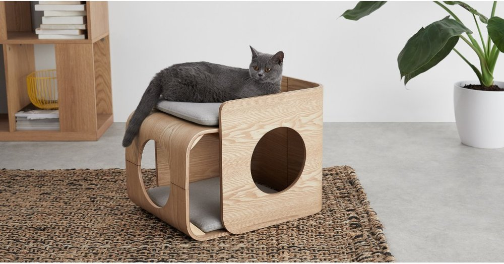 Kyali Square Cat Bed - £99