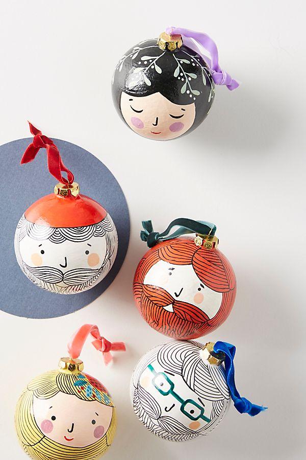 Friendly Face Ornament - £16