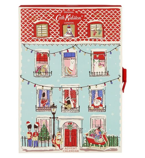 Cath Kidston Advent Calendar - Already selling out fast, this year's advent calendar from Cath Kidston features all the favourites, from hand creams to body lotion and lip balm, all in Cath Kidston's signature playful packaging.£40.00