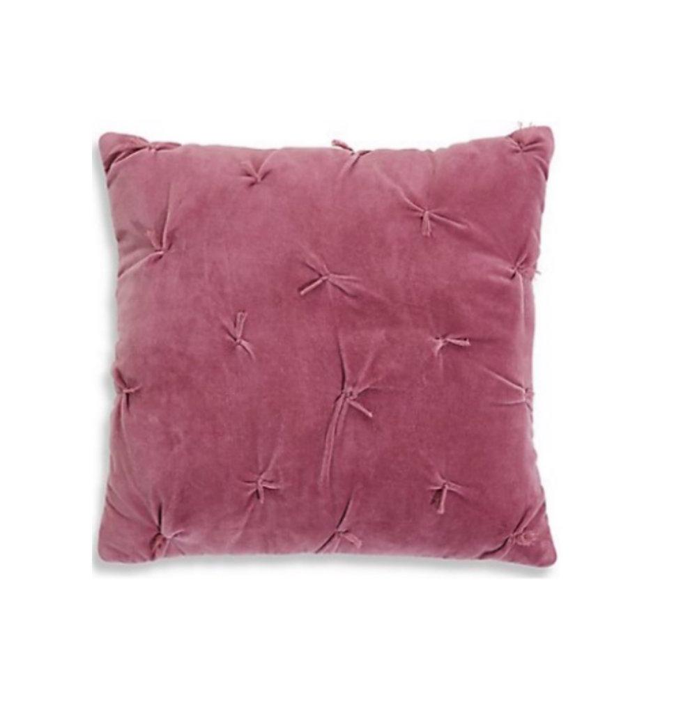 M&S Cotton Velvet Cushion: £25.00