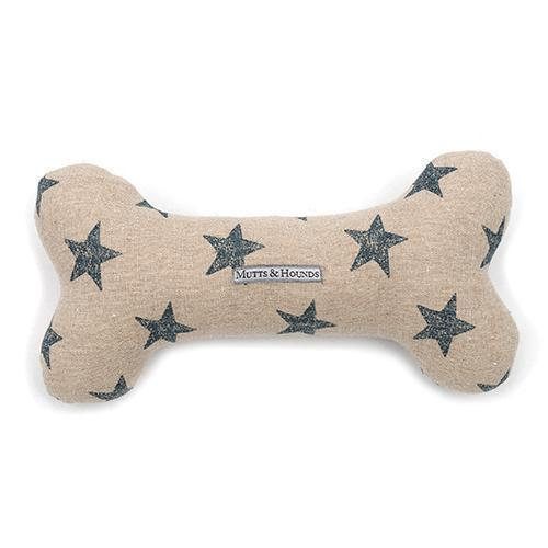 Mutts & Hounds Squeaky Bone Toy: £18.00