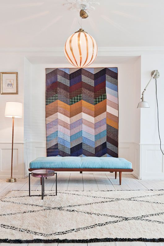4. Textile Art - Forget traditional prints or paintings, this trend is focused on beautifully-tactile textile wall art. If you don't have a lot of wall space, start small with macramé hangings. With searches up 1718% this trend is sure to hang around for a while.