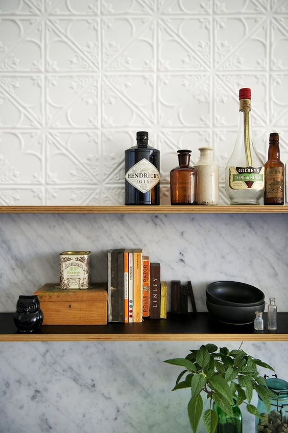 5. Tin Interiors - While it may sound obscure, searches for tin interiors have increased by 563% year on year. Tin tiles (try painting them for a more subtle look) and splashbacks are an easy way to embrace this trend whilst adding a little texture and classical style to your home.