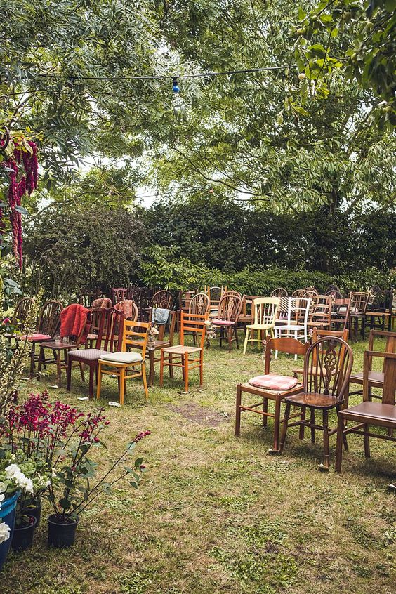 17. Back-Garden Weddings - Weddings are always a costly affair and with Millennials becoming increasingly financially-conscious it is no wonder backyard weddings have become a popular search term – after all Pinterest is the go-to website for wedding inspiration.