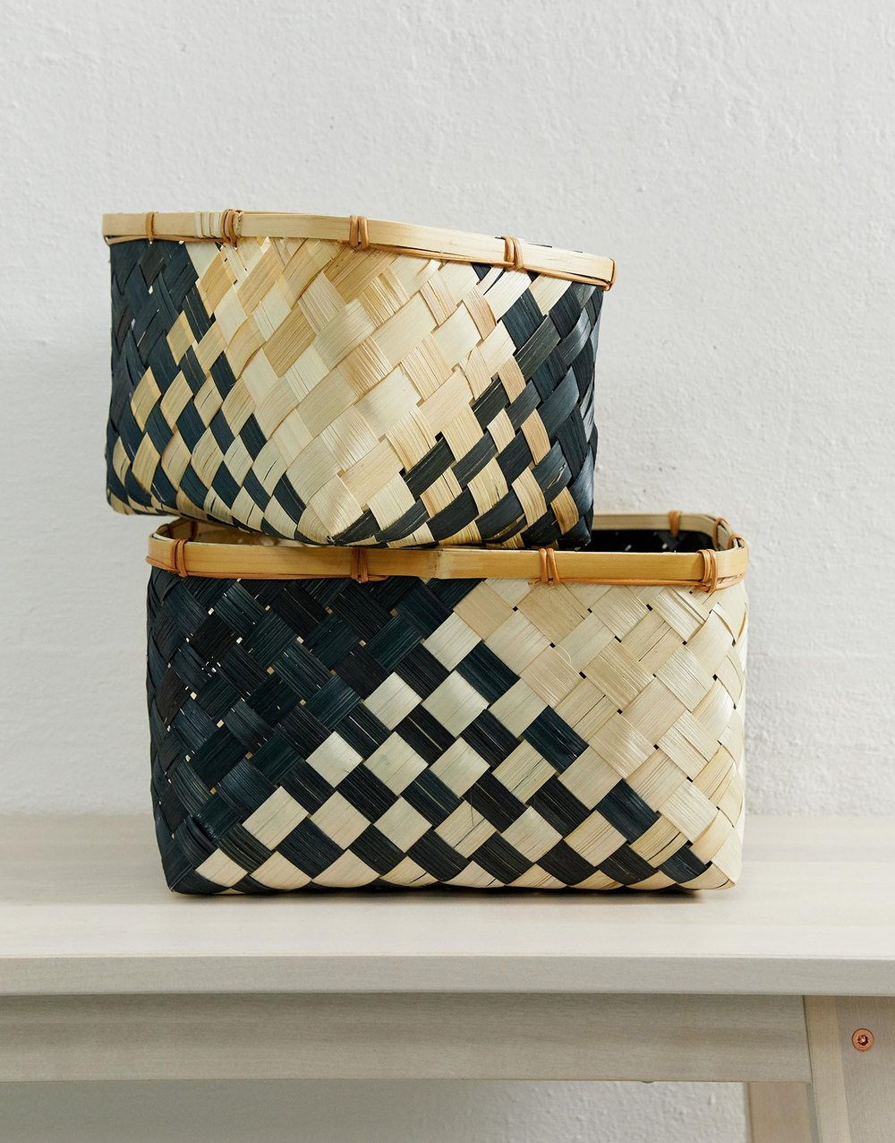 ASOS SUPPLY zig zag baskets £18.00