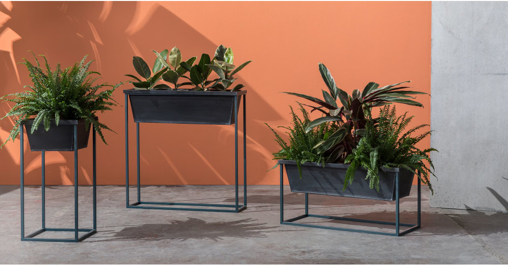 Made - Noor Free Standing Square Plant Stand - £45.00