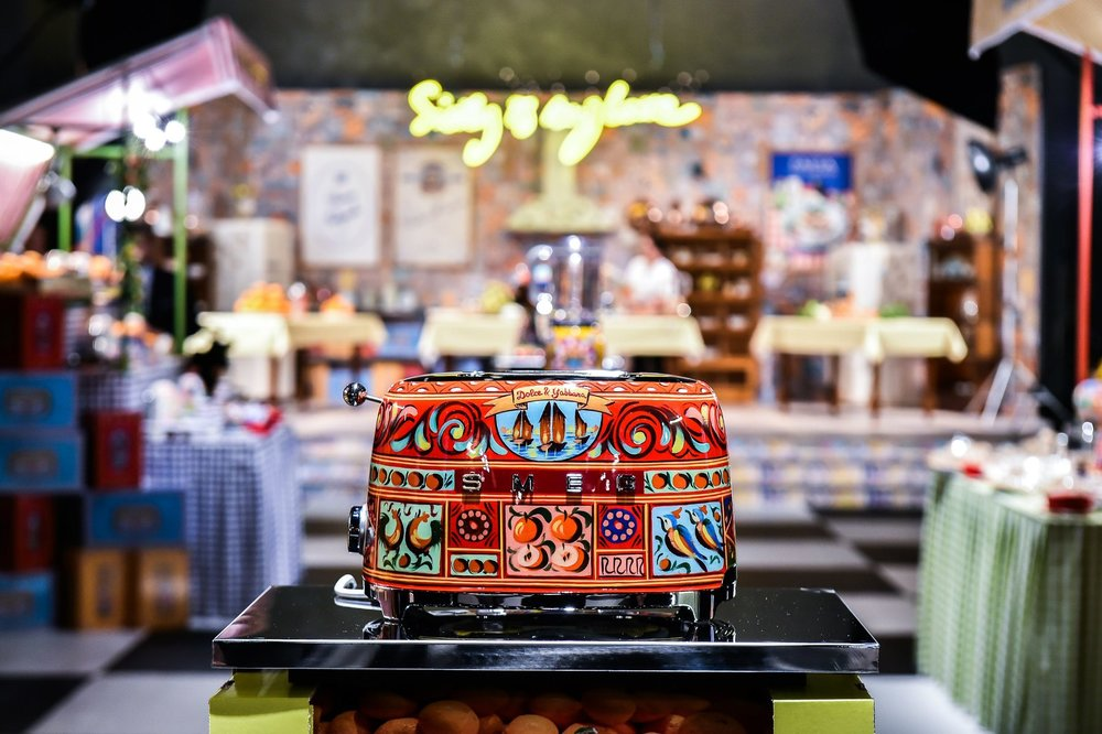 Dolce&Gabbana for smeg -