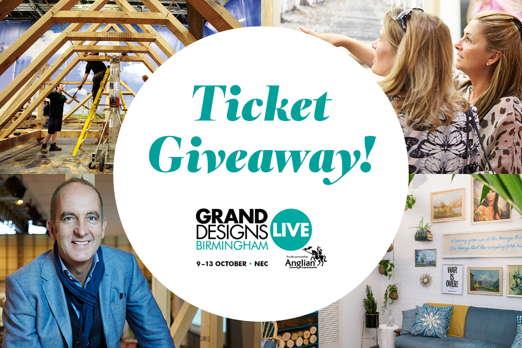 Free Tickets To Grand Designs Live Birmingham 2019 Liv For Interiors