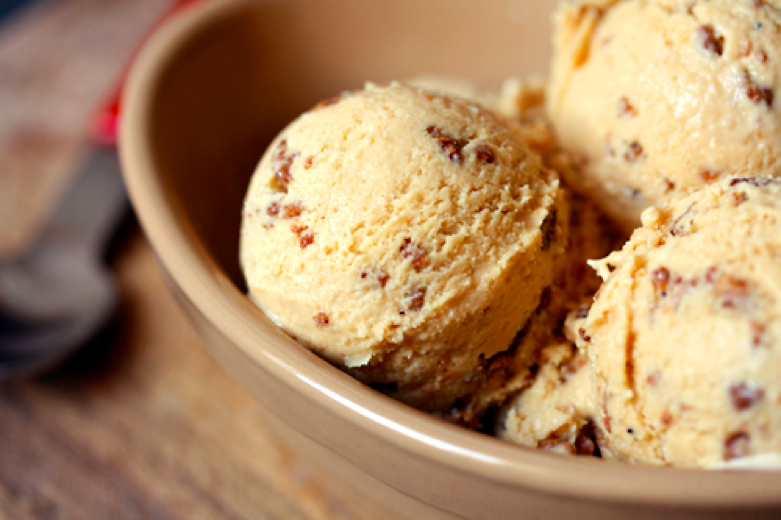 Delicious homemade ice cream!