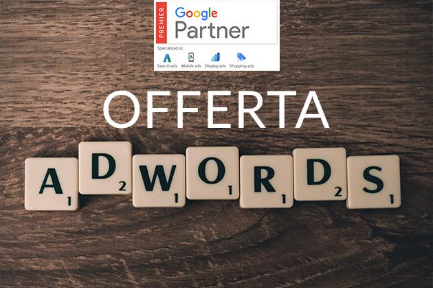 Clicca e scopri le nostre promozioni per Google Adwords! -