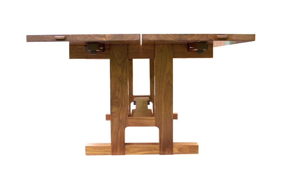 Walnut Arts & Crafts Table .jpg